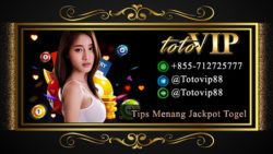 Tips Menang Jackpot Togel Online