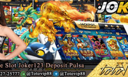 Game Slot Joker123 Deposit Pulsa